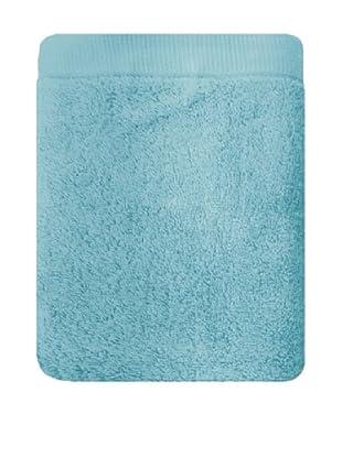 Manterol Set Toallas + Alfombra Baño Rizo Algodón (Azul)