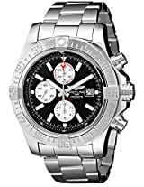 Breitling Men's BTA1337111-BC29SS Super Avenger II Analog Display Swiss Automatic Silver Watch