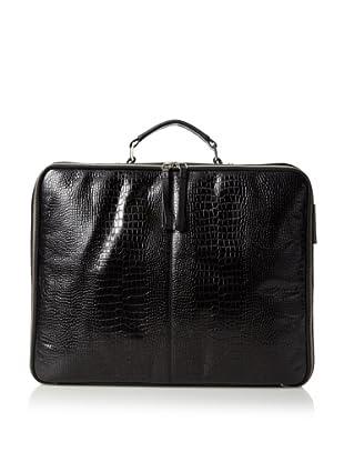 Bodhi Women's Portable Office Briefcase, Black