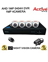 ACTIVE 4CH DVR DOM NIGHTVISION CCTV CAMERA COMBO