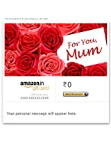 Mother's Day (For You) - E-mail Amazon.in Gift Card