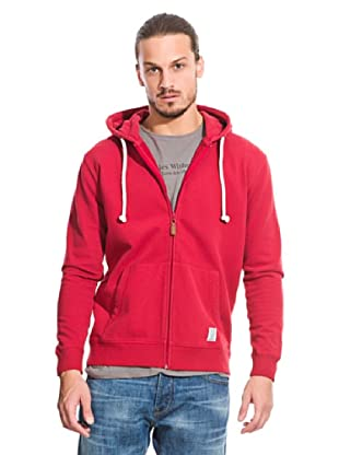 Springfield Sweatshirtjacke (Rot)