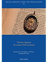 Thomas Aquinas, De Unione Verbi Incarnati (Dallas Medieval Texts and Translations)