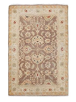 Darya Rugs Oushak Oriental Rug, Brown, 3' x 4' 7