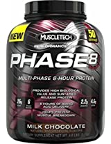 Muscletech Multi Phase 8 - Hour Protein - 4.60 lbs 2.09 Kg (Milk Chocolate)