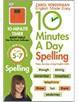 10 Minutes A Day Spelling KS1 (Reissues Education 2014)