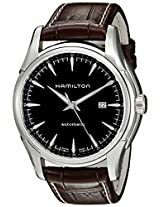 Hamilton Men's H32715531 Jazzmaster Viewmatic Black Dial Watch