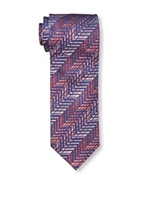 Missoni Men's Zig Zag Tie, Red/Blue