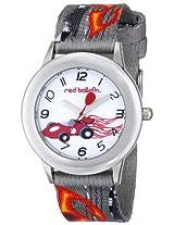 Red Balloon Kids' W000344 Speed Racing Tween Stainless Steel Printed Strap Watch