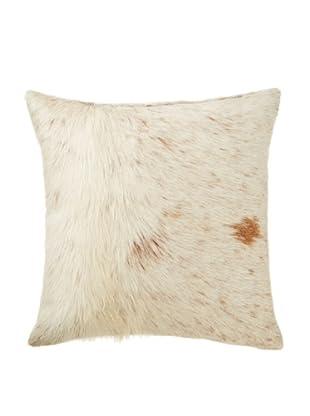 Natural Brand Torino Cowhide Pillow (Brown/White)