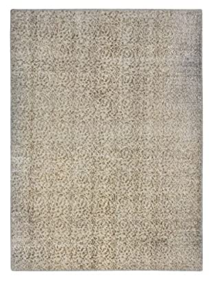 eCarpet Gallery One-of-a-Kind Hand-Knotted Color Transition Rug, Light Grey, 6' 1