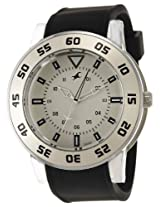 Fastrack OTS Explorer Analog White Dial Men's Watch - 9950PP05J