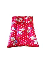 TAG Products Cartoon Prints Baby Bedding Set Red- 4 Pcs