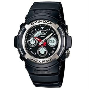 Casio G-Shock (Extra Large Combination) AW-590-1ADR (G219) Watch - For Men