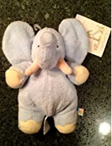John Lennon - Carters Elephant Baby Rattle Plush Toy - Real Love - Choice of One Color