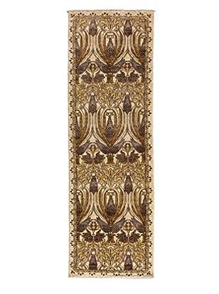 Darya Rugs Arts & Crafts Handmade Rug, Ivory, 2' 6
