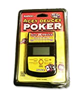 Radica Acey Deucy Poker Electronic Handheld Toy Game