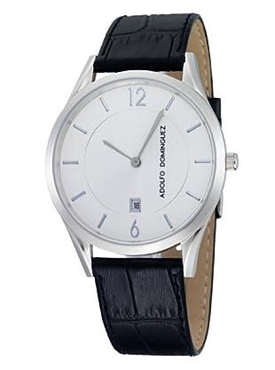 Adolfo Dominguez Watches 53002 - Reloj de Caballero cuarzo piel Negro