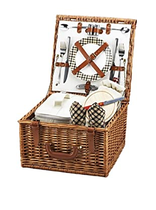 Picnic at Ascot Cheshire Basket for Two, London Plaid