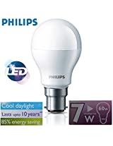 Philips 929001120514 B22 Base 7-Watt LED Bulb (Cool Day Light)