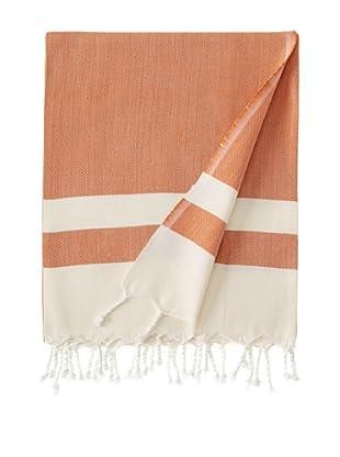 Nomadic Thread Society Boardwalk Hammam Towel (Rust)