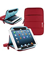 rooCASE XTREME Super Foam (Red) Sleeve Cover for Apple iPad Mini / Galaxy Tab 2 7.0 / Kindle Fire HD 7 / Nexus 7 - Support Landscape and Portrait Display