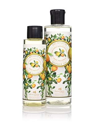 Panier des Sens Soothing Oils from Provence Shower Gel and Massage Oil, Set of 2