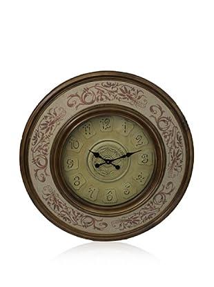 Wall Clock (Light Brown)