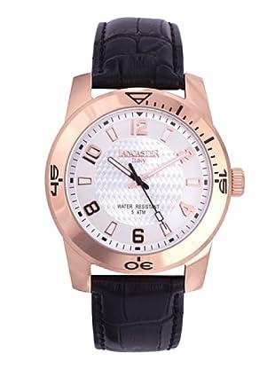 Lancaster Uhr mit Miyota Uhrwerk Timeleader Rosé  45 mm