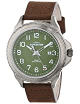 Timex Men's T499469J Expedition Rugged Metal Field Brown Leather Strap Watch