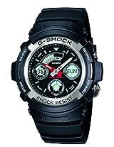 G-Shock Analog-Digital Black Dial Men's Watch - AW-590-1ADR (G219)