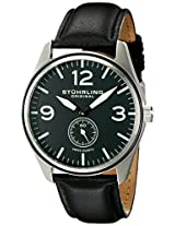 Stuhrling Original Analog Black Dial Men's Watch - 931.01