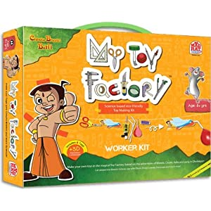 Madrat Games Chhota Bheem My Toy Factory Worker Kit, Multi Color