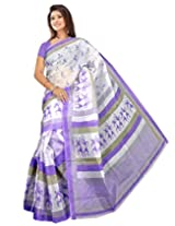 Saran's Exclusive Digital Printed POLY cotton Saree