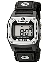Freestyle Unisex 779024 Shark Classic Silver Nylon Strap Watch