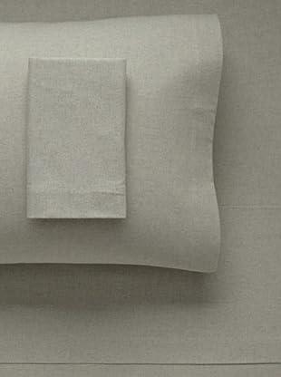 La Rochelle Heather Flannel Sheet Set (Sage)