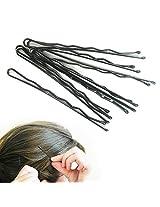144 Pcs Fashion Hair Styling Bobby Pins Ladies Girls Clips Grips Salon Black New