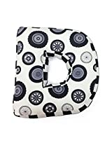One Grace Place Teyo's Tires Letter Pillow