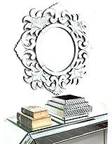 """Flower Round Mirror VDR-430 (SIZE = 36"""" x 36"""")"""