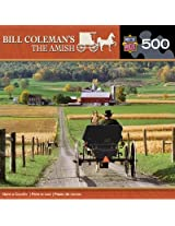 MasterPieces Bill Coleman's The Amish Gone a-Courtin' Jigsaw Puzzle, 500-Piece