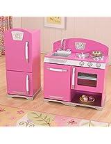KidKraft 53306 Retro Kitchen and Refrigetator Bubblegum Toy