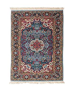 Navaei & Co. Alfombra Berkana Azul/Multicolor 154 x 93 cm