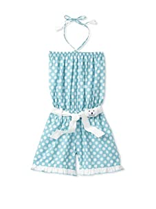 4EverPrincess Girl's Leo Overall (Blue)