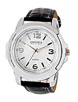 Exotica Analog White Dial Men's Watch (EFG-05-W)