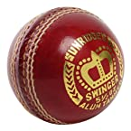 SS Swinger Cricket Ball, Red Leather Single Unit