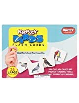Krazy Birds - Flash Cards