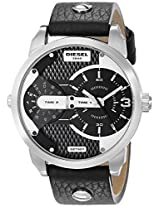 Diesel End of Season The Daddie Analog Black Dial Men's Watch - DZ7307