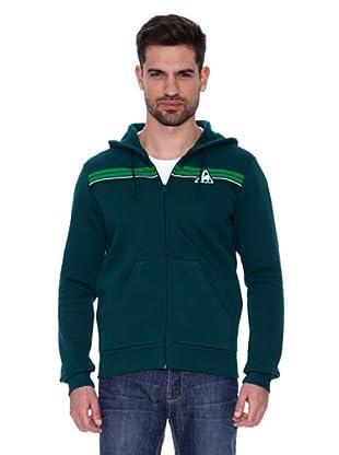 Le Coq Sportif Sudadera Barenton Fzh M (Verde)