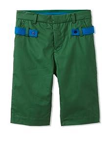kicokids Boy's Slim City Bermuda Shorts (Grass)