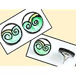 Mural Stud Earring 04